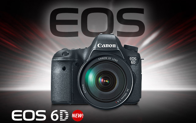 Canon New 6D Full Frame Camera Benner's Camera Shop
